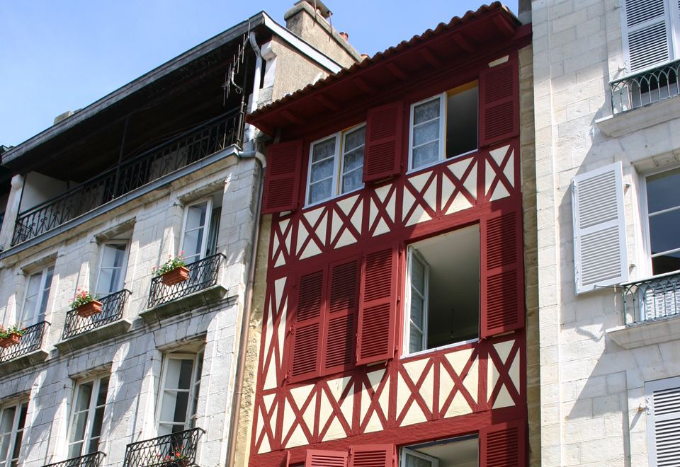 Rue d'Espagne à Bayonne