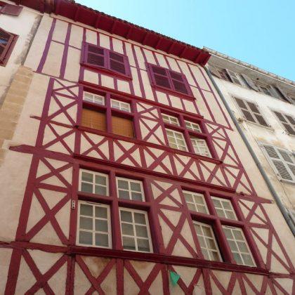 Rue des Basques à Bayonne