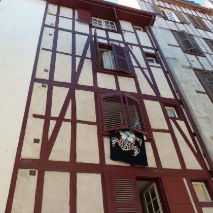 Rue des Faures à Bayonne