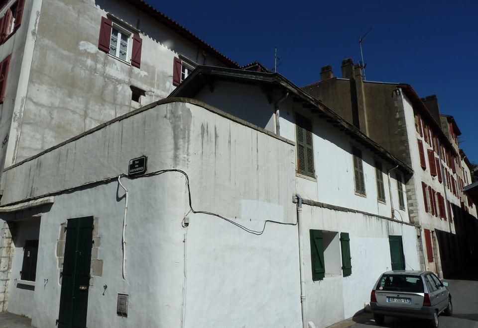 Rue du Trinquet à Bayonne