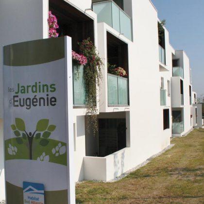 Les jardins d'Eugénie à Anglet