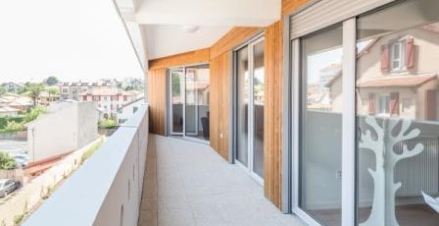 Rivadour à Bayonne, balcon