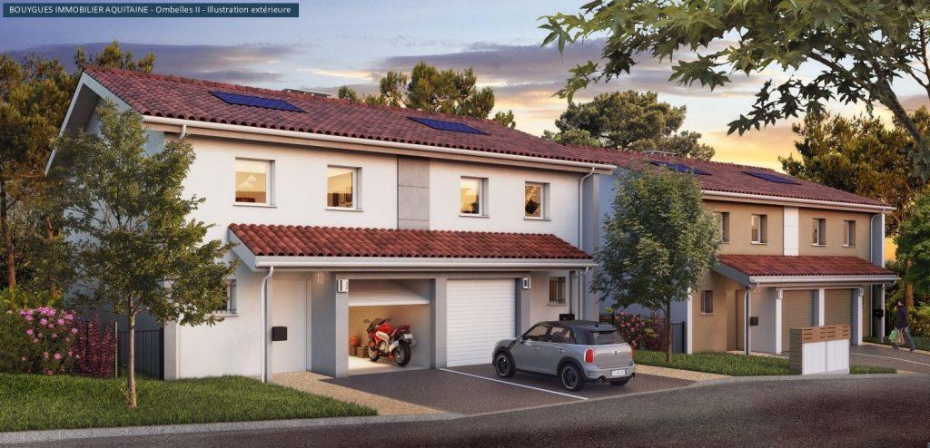 VOTRE MAISON avec garage, à BOUCAU pour fin 2019
