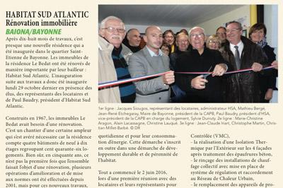 Articles la Semaine du Pays Basque du 2 au 8 novembre 2018