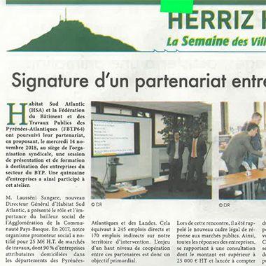 Articles la Semaine du Pays Basque