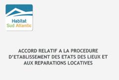 Protocole réparations locatives