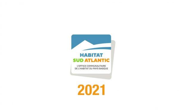 Les voeux Habitat Sud Atlantic 2021