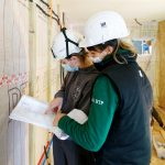 A Mouguerre, la construction des logements pour les sans-abris avance.